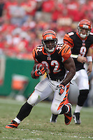 Bengals running back Rudi Johnson in action against the Chiefs at Arrowhead Stadium in Kansas City, Missouri on September 10, 2006. Cincinnati won 23-10.