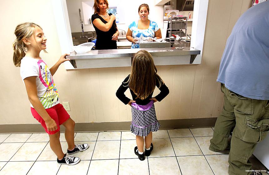 Girls Inc. in Manchester, N.H., Thursday, September 9, 2010.  (Cheryl Senter for the New Hampshire Charitable Foundation)