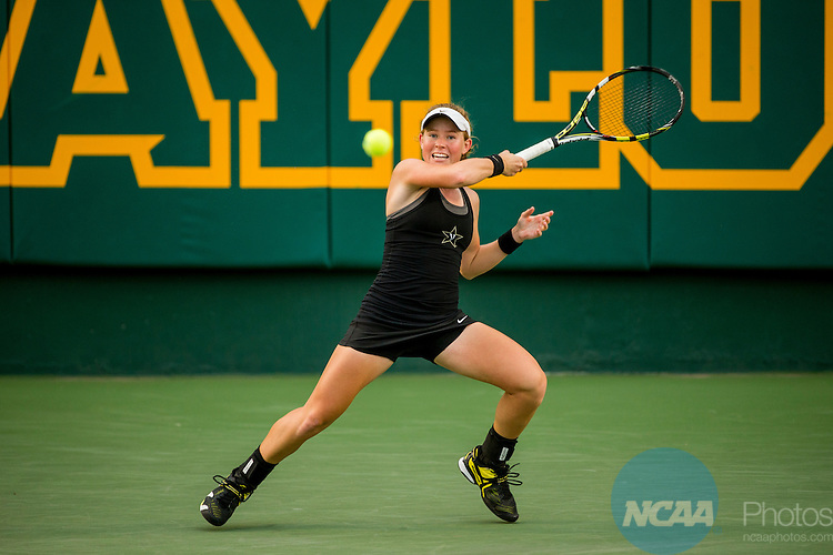 19 MAY 2015:  Frances Altick during The Division I Women's Tennis Championship at the Hurd Tennis Center on the Baylor University campus in Waco, TX.  Vanderbilt defeated UCLA 4-2 to win the team national title.  Darren Carroll/NCAA Photos to win the team national title.