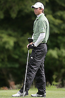 22 May, 2010:   Loyola Colleges Patrick McCormick waits his turn to tee off on the eleventh hole during day three of the first round of the NCAA West Regionals at Gold Mountain Golf course in Bremerton, WA.