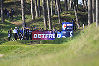 Thongchai Jaidee (THA) on the 8th tee during Round 3 of the Betfred British Masters 2019 at Hillside Golf Club, Southport, Lancashire, England. 11/05/19<br /> <br /> Picture: Thos Caffrey / Golffile<br /> <br /> All photos usage must carry mandatory copyright credit (&copy; Golffile | Thos Caffrey)
