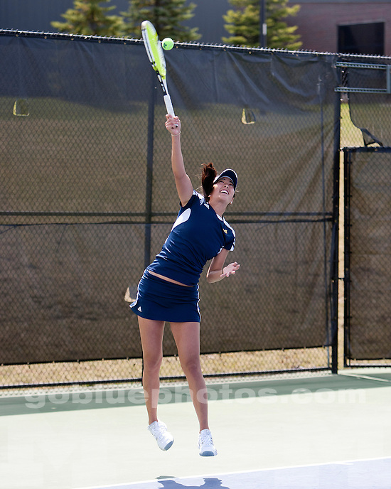 University of Michigan women's tennis defeats Northwestern University 6-1 to clinch the Big Ten regular-season title at the Varsity Tennis Center in Ann Arbor, MI, on April 23, 2011.