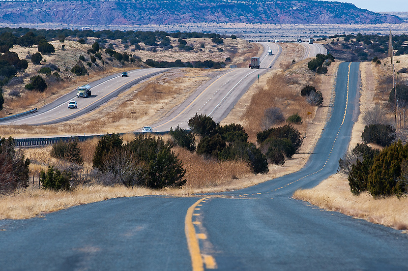 """U.S. Route 66, also known as the Will Rogers Highway, and colloquially known as the """"Main Street of America"""" or the """"Mother Road"""" was a highway within the U.S. Highway System. One of the original U.S. highways, Route 66 was established on November 11, 1926. The highway, which became one of the most famous roads in America, originally ran from Chicago, Illinois, through Missouri, Kansas, Oklahoma, Texas, New Mexico, Arizona, and California, before ending at Los Angeles, covering a total of 2,448 miles (3,940 km)."""