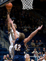 Richard Solomon of California shoots the ball during the game against San Diego at Haas Pavilion in Berkeley, California on November 1st, 2011.  California defeated San Diego, 88-53.