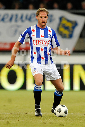 HEERENVEEN - Voetbal, SC Heerenveen - NAC , Eredivisie,  Abe Lenstra stadion, seizoen 2011-2012, 17-02-2012 SC Heerenveen speler Michel Breuer.
