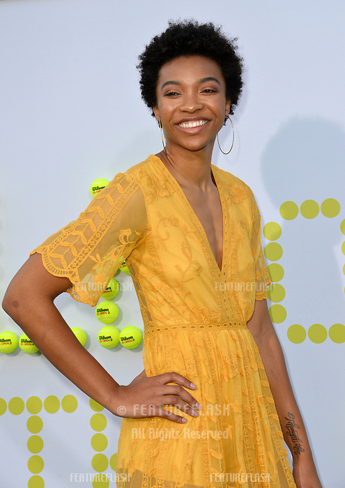 Imani Boyette at the premiere for &quot;Battle of the Sexes&quot; at the Regency Village Theatre, Westwood, Los Angeles, USA 16 September  2017<br /> Picture: Paul Smith/Featureflash/SilverHub 0208 004 5359 sales@silverhubmedia.com