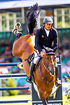Longines FEI Jumping Nations Cup of Great Britain at the BHS Royal International Horse Show. All England Jumping Course. Hickstead. Great Britain. 28/07/2018. ~ MANDATORY Credit Elli Birch/Sportinpictures - NO UNAUTHORISED USE - 07837 394578