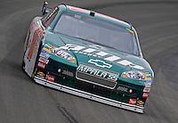 Oct. 11, 2009; Fontana, CA, USA; NASCAR Sprint Cup Series driver Dale Earnhardt Jr during the Pepsi 500 at Auto Club Speedway. Mandatory Credit: Mark J. Rebilas-