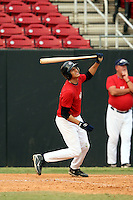 September 15, 2009:  Manny Machado, one of many top prospects in action, taking part in the 18U National Team Trials at NC State's Doak Field in Raleigh, NC.  Photo By David Stoner / Four Seam Images