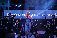 Marie Mai performs at the St-Jean show on the Plains of Abraham in Quebec City during the Fête nationale du Quebec, Thursday June 23, 2016. St-Jean Baptist is Quebec National day and is traditionally celebrated on the Plains of Abraham with a concert and a huge fire.