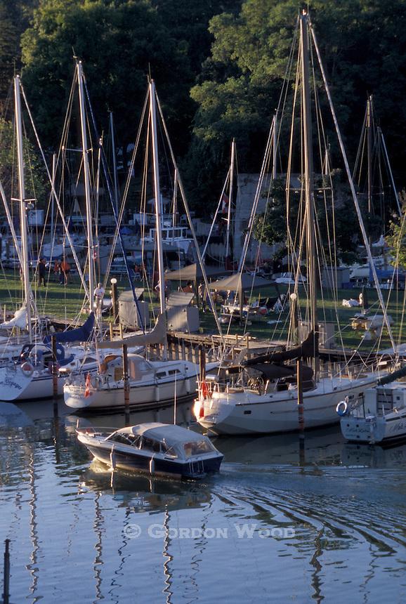 Bayfield Ontario Marina on Bayfield River