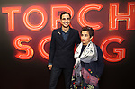 "Zac Posen and Mom attends the Broadway Opening Night of ""Torch Song"" at the Hayes Theater on Noveber 1, 2018 in New York City."