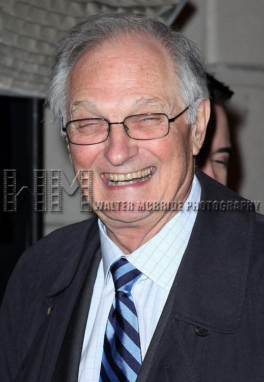 Alan Alda.attending the Opening Night Performance of 'The Gershwins' Porgy & Bess' at the Richard Rodgers Theatre in New York City. 1/12/2012