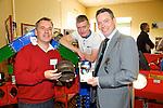 Chris Foley, James Mahony, (Jr) James Mahony at the Kerry ETB  Education, Training and Opportunities fair  at the Brandon Hotel on Thursday