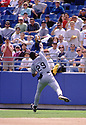 CIRCA 1998: Fred McGriff #29, of the Tampa Bay Devil Rays fielding during a game from his 1998 season with the Tampa Bay Devil Rays. Fred McGriff played for 19 years, with 6 different teams and was a 5-time All-Star ((Photo by: 1998 SportPics)  *** Local Caption *** Fred McGriff