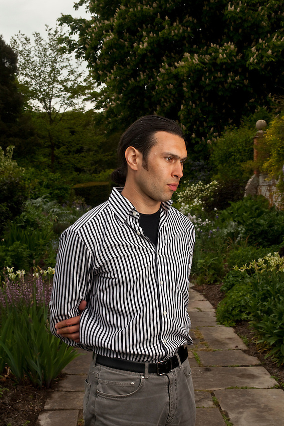 Vladimir  Jurowski, the Russian conductor, on the grounds of Glyndebourne. Jurowski is the Glyndebourne music director and conductor of Falstaff, Tristan und Isolde.
