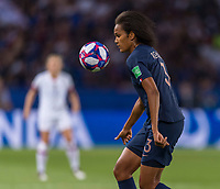 PARIS,  - JUNE 28: Wendie Renard #3 during a game between France and USWNT at Parc des Princes on June 28, 2019 in Paris, France.