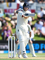 21st November 2019; Mt Maunganui, New Zealand;  England's Ben Stokes pulls to the on side. international test match cricket, Day 1, New Zealand versus England at Bay Oval, Mt Maunganui, New Zealand.