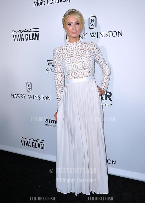 LOS ANGELES, CA. October 27, 2016: Paris Hilton at the 2016 amfAR Inspiration Gala at Milk Studios, Los Angeles.<br /> Picture: Paul Smith/Featureflash/SilverHub 0208 004 5359/ 07711 972644 Editors@silverhubmedia.com