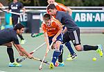DEN HAAG - Thierry Brinkman  tijdens de trainingswedstrijd Nederland-Argentinie (1-2). COPYRIGHT KOEN SUYK