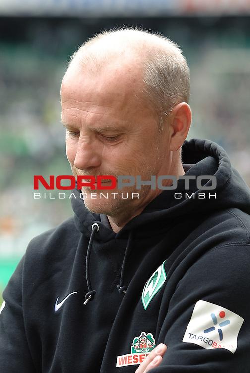 11.05.2013, Weserstadion, Bremen, GER, 1.FBL, Werder Bremen vs Eintracht Frankfurt, im Bild Thomas Schaaf (Trainer Werder Bremen)<br /> <br /> Foto &copy; nph / Frisch