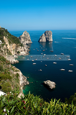 Faraglioni, Capri, Italy