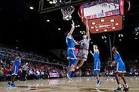 Stanford, CA - January 4, 2018. Stanford Men's Basketball vs UCLA. Final Score Sanford 107, UCLA 99.