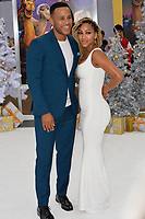 Meagan Good &amp; DeVon Franklin at the world premiere for &quot;The Star&quot; at the Regency Village Theatre, Westwood. Los Angeles, USA 12 November  2017<br /> Picture: Paul Smith/Featureflash/SilverHub 0208 004 5359 sales@silverhubmedia.com