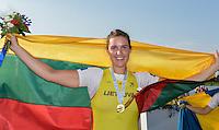 Rotterdam. Netherlands.   Gold Medalist LTU BW1X.  Leva ADOMAVICIUTE, 2016 . {WRCH2016}  at the Willem-Alexander Baan.   Friday  26/08/2016 <br /> <br /> [Mandatory Credit; Peter SPURRIER/Intersport Images]