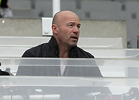 Alan Shearer takes his position in the commentary box ahead of kick-off<br /> <br /> Photographer Rich Linley/CameraSport<br /> <br /> The Premier League -  Newcastle United v Liverpool - Sunday 1st October 2017 - St James' Park - Newcastle<br /> <br /> World Copyright &copy; 2017 CameraSport. All rights reserved. 43 Linden Ave. Countesthorpe. Leicester. England. LE8 5PG - Tel: +44 (0) 116 277 4147 - admin@camerasport.com - www.camerasport.com