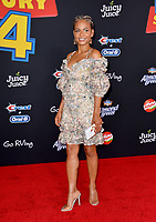 "LOS ANGELES, USA. June 12, 2019: Christina Milian at the world premiere of ""Toy Story 4"" at the El Capitan Theatre.<br /> Picture: Paul Smith/Featureflash"