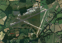 BNPS.co.uk (01202 558833)<br /> Pic: GoogleEarth<br /> <br /> A breathtaking country estate which is just a stones' throw from the iconic Top Gear test track is up for let for an incredible £13,000 per month.<br /> <br /> Barnfield in Surrey dates back to the 16th century and is separated from the famous Dunsfold Aerodrome by just a few fields.<br /> <br /> The airfield, which was used by the Candadian Air Force during WWII, has been home to the BBC show since it returned to screens in 2002.