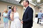 LOS ANGELES - MAY 15: Ilyanne Morden Kichaven, Liev Schreiber at The Actors Fund's Edwin Forrest Day celebration at a private residence on May 15, 2016 in Sherman Oaks, California