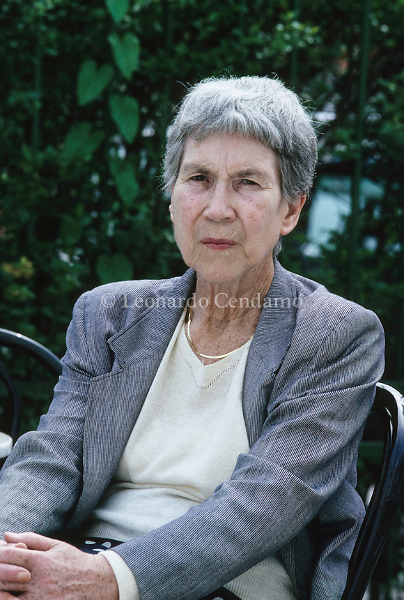Torino, Italy, Natalia Ginzburg, writer, fiera internazionale del libro,  © Leonardo Cendamo