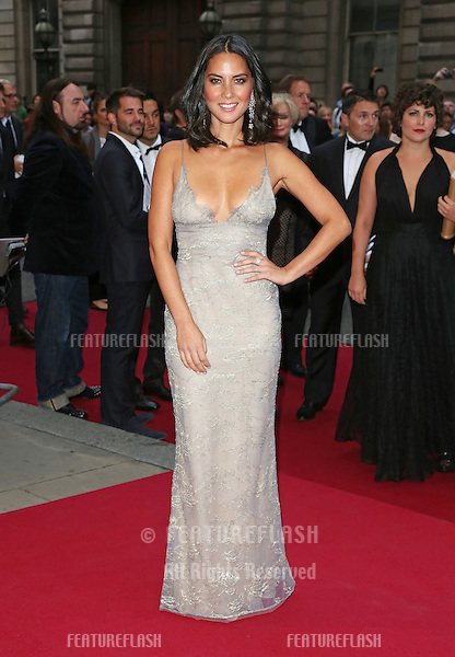 Olivia Munn arriving for the 2012 GQ Men Of The Year Awards, Royal Opera House, London. 05/09/2012 Picture by: Henry Harris / Featureflash
