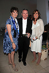 PALM SPRINGS - APR 27: Lucie Arnaz, John Holly, Linda Gray at a cultivation event for The Actors Fund at a private residence on April 27, 2016 in Palm Springs, California