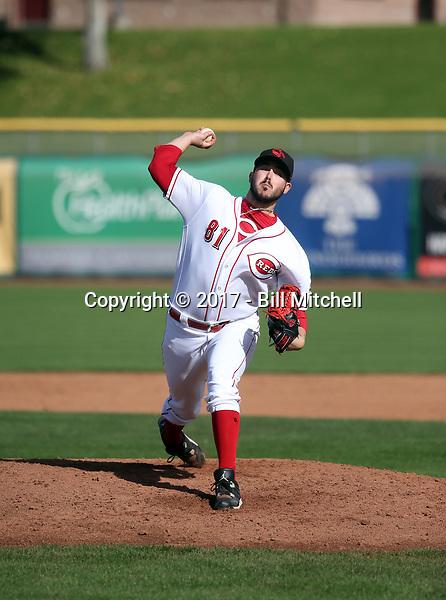 Jacob Ehret - Scottsdale Scorpions - 2017 Arizona Fall League (Bill Mitchell)