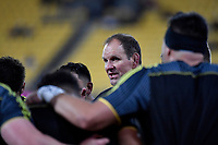 Hurricanes coach John Plumtree during the Super Rugby - Hurricanes v Chiefs at Westpac Stadium, Wellington, New Zealand on Saturday  27 April 2019. <br /> Photo by Masanori Udagawa. <br /> www.photowellington.photoshelter.com