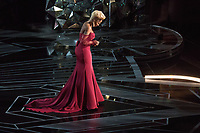 Oscar&reg; nominee for Best Original Song, Mary J. Blige performs during the live telecast of The 90th Oscars&reg; at the Dolby&reg; Theatre in Hollywood, CA on Sunday, March 4, 2018.<br /> *Editorial Use Only*<br /> CAP/PLF/AMPAS<br /> Supplied by Capital Pictures