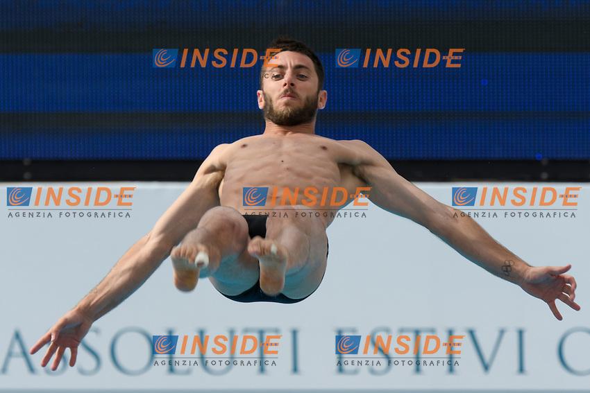 Michele Benedetti <br /> 3m Trampolino uomini <br /> Roma 20-06-2016 Stadio del Nuoto Foro Italico Tuffi Campionati Italiani <br /> Foto Andrea Staccioli Insidefoto