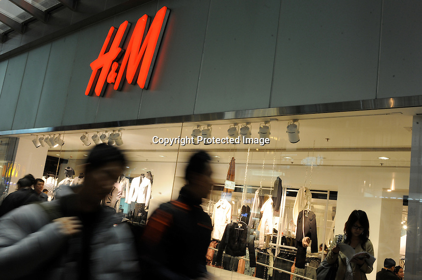 H&M store in Central, Hong Kong. So far, H&M has expanded into 34 marketplaces worldwide with 1,800 stores..
