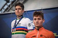 World Champion Wout Van Aert (BEL) as runner-up<br /> <br /> UEC CYCLO-CROSS EUROPEAN CHAMPIONSHIPS 2018<br /> 's-Hertogenbosch – The Netherlands<br /> Men Elite Race