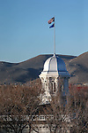 The Capitol dome, seen from the Legislative Building, in Carson City, Nev., on Wednesday, Feb. 18, 2015. <br /> Photo by Cathleen Allison