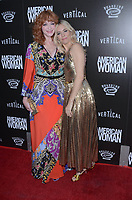 HOLLYWOOD, CA - JUNE 6: Christina Hendricks, Sienna Miller at the L.A. Premiere of American Woman at the Arclight in Hollywood, California on June 5, 2019. <br /> CAP/MPI/DE<br /> ©DE//MPI/Capital Pictures