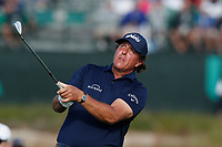 Phil Mickelson (USA) tees off on the 17th hole during the second round of the 118th U.S. Open Championship at Shinnecock Hills Golf Club in Southampton, NY, USA. 15th June 2018.<br /> Picture: Golffile | Brian Spurlock<br /> <br /> <br /> All photo usage must carry mandatory copyright credit (&copy; Golffile | Brian Spurlock)