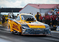 Sep 2, 2018; Clermont, IN, USA; NHRA funny car driver J.R. Todd during qualifying for the US Nationals at Lucas Oil Raceway. Mandatory Credit: Mark J. Rebilas-USA TODAY Sports