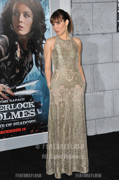 "Noomi Rapace at the Los Angeles premiere of her new movie ""Sherlock Holmes: A Game of Shadows"" at the Village Theatre, Westwood..December 6, 2011  Los Angeles, CA.Picture: Paul Smith / Featureflash"