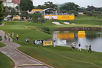 View of the 14th during the Final Round of the 2014 Maybank Malaysian Open at the Kuala Lumpur Golf & Country Club, Kuala Lumpur, Malaysia. Picture:  David Lloyd / www.golffile.ie