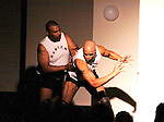 Layon Gray - Delano Barbosa - Layon Gray's Kings of Harlem - a story about the Harlem Rens who were one of the dominant basketball teams of the 1920's and 1930's - had a special show on September 15, 2015 at St. Luke's Theatre, New York City, New York. The play stars Melvin Huffnagle, Thaddeus Daniels, Ade Otukoya, Lamar Cheston, Delano Barbosa, Jeantique Oriol and Layon Gray.  (Photo by Sue Coflin/Max Photos)