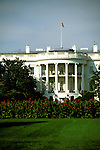 Washington DC: The White House. Photo #: washdc102..Photo copyright Lee Foster, www.fostertravel.com, 510/549-2202, lee@fostertravel.com